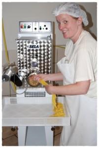 An der Nudelmaschine